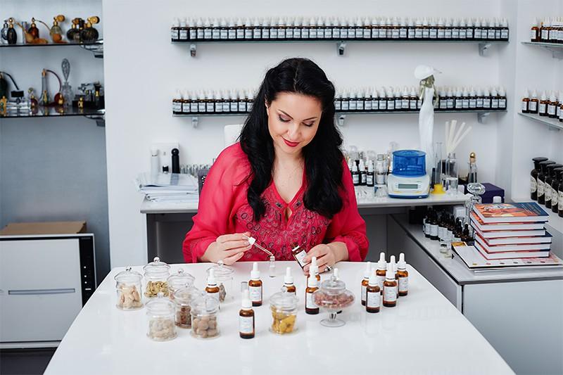 Обучение на парфюмера